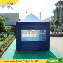Beautiful and practical steel gazebo tent with curtains vendor