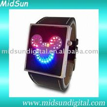 HOT-Fashion 2010 Japan inspired Red LED Watch