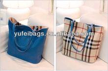 Hot Sale PU Shopping Tote Bag