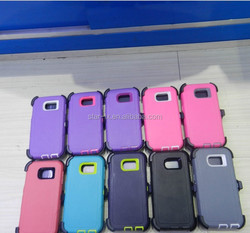 for samsung galaxy s6 case, Holster Kickstand Combo Case for samsung s6