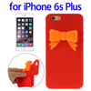 Hot!!! Stereoscopic pattern silicone back cover for iPhone 6s Plus
