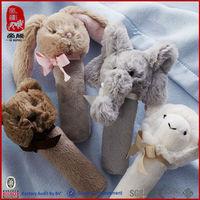 plush infant educational toy set baby toy rattle