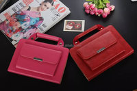 Fashion handbag business style tablet leather cover case for Apple iPad Mini 4