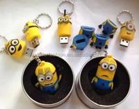 TF-G01151008017 minions U-8G/16G/32G cute creative cartoon USB flash drive