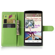Luxury cell phone cover wallet leather with card slots stand flip for lg g4 stylus 3g wholesale alibaba