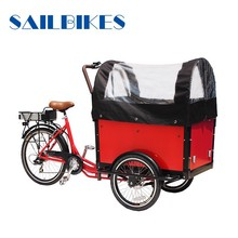 front loading cargo tricycle for family