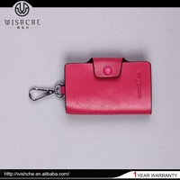 Wishche Wholesale Genuine Leather Car Key Waterproof Bag 2015 New Arrival Casual Key Bag Key Case Holder Bag Made in China W111