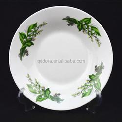 "wholesale ceramic plate ,cheap porcelain plate manufacturer,cheap stock 8"" soup plate,9"" soup plate"