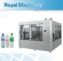3 in 1 bottle filling washing capping machine