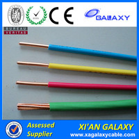 Flexible Cooper Electric Wiring Cable PVC Insulation 4mm 10mm 6mm Electrical Cables And Wires