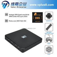 Vplus W1 kodi amlogic s905 box android tv box amlogic s905
