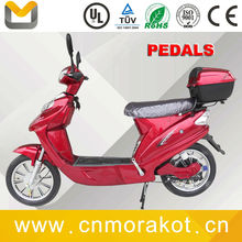 40kgs 200W 36V electric scooter/electric bike with pedals (lithium battery) for UK --LS2