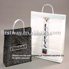Plastic Rigid Loop Handle Shopping bag