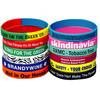 silk printing custom adjustable silicone wristbands europe custom silicone wristband imported silicone wristbands