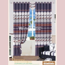 New product blackout polyester print curtain