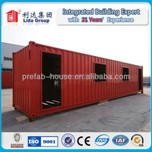 2015 New Design Customized Fashionable bright Hot Sale Flatpack Prefabricated Container Houses Weifang Henglida