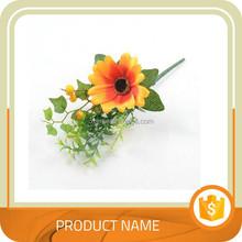 Different colors Artificial Silk Plastic Flowers