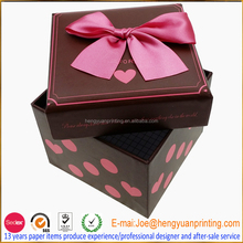 Fashion Paper jewellery box design your own jewellery box velvet jewellery box CHF083