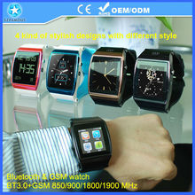 gsm gps camera watch phone with record exercise condition auto-sync calls