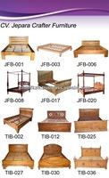 SOLID WOOD BEDROOMS FURNITURE - TEAK BEDS MODELS