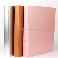 2015 New Fashion Colorful Printing A4 Fc Size 3 ring Binder, Design Paper File Folder, Decoration File Covers