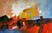 pictures of abstract oil paintings