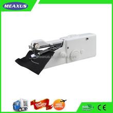 Free Shipping Mini Manual Portable Handy Stitch Mechanical Sewing Machine with Bonus Thread + Needles