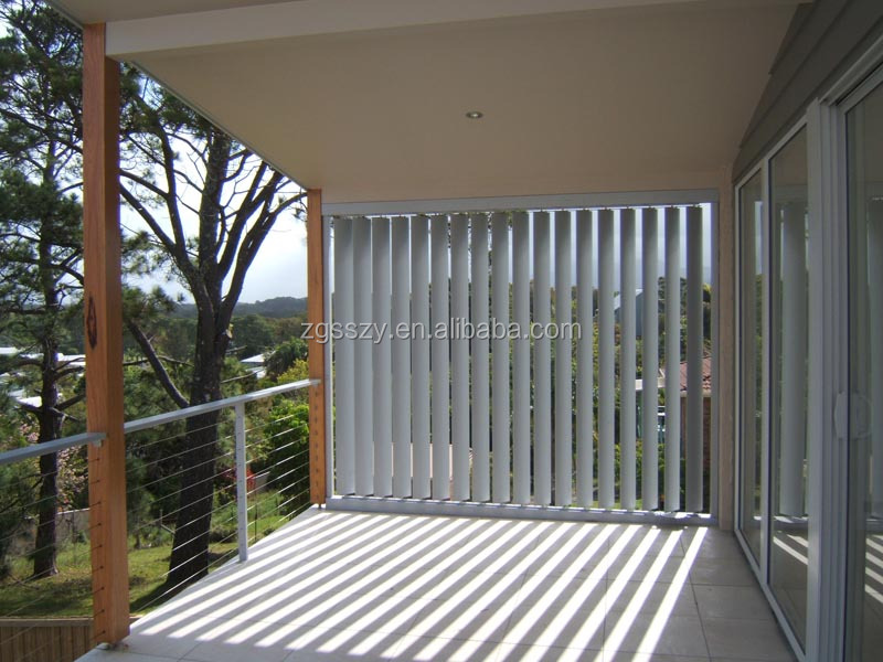 Exterior Aluminium Louvers With Motor To Remote Control