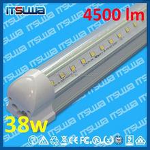 High flux 4ft 1200mm 20W V shape LED tube light T8 Integrated type Shenzhen factory UL no.:E465651