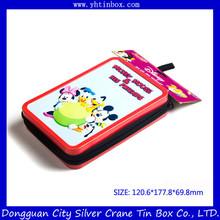 Rectangular Zipper Mint Tin Can