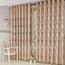 2016 New Fashion Small MOQ Home decoration Readymade bay window blinds curtain fabric