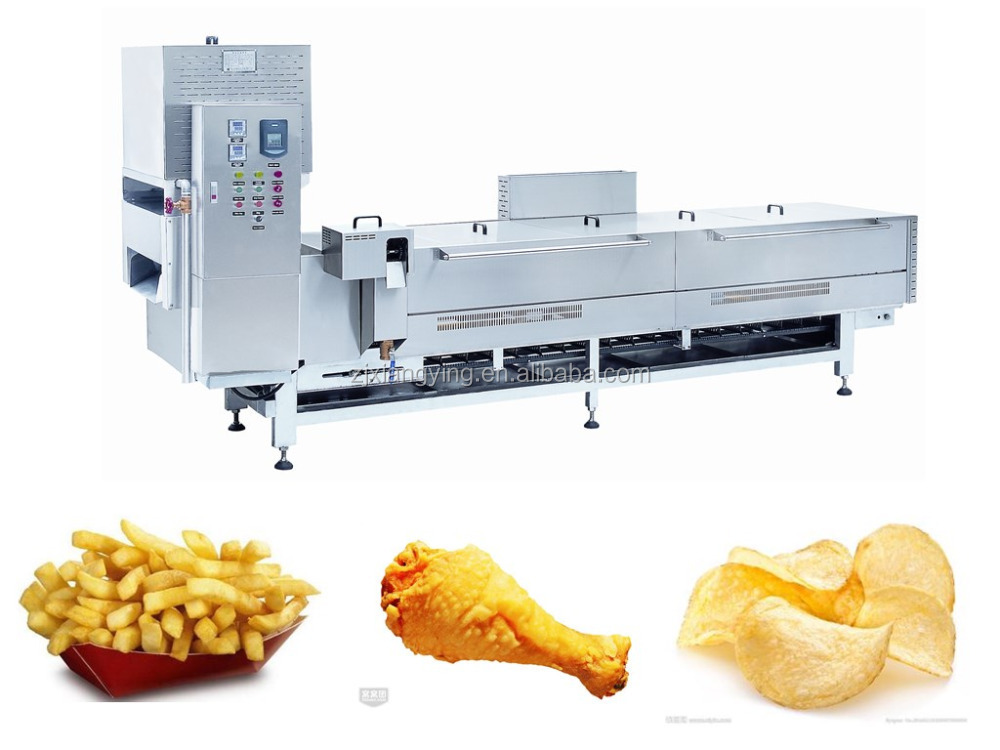Industrial Food Products : Xyxz industrial kitchen equipment food deep frying line