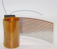 Electric Polyimide Flexible Heaters with Flex Circuits