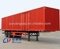 best selling cargo semi trailer house,3 axles semi trailer,side open truck