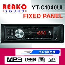 Fixed panel Car MP3 ayer with LED screen remote control