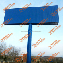 High quality Outdoor steel structure billboard stand