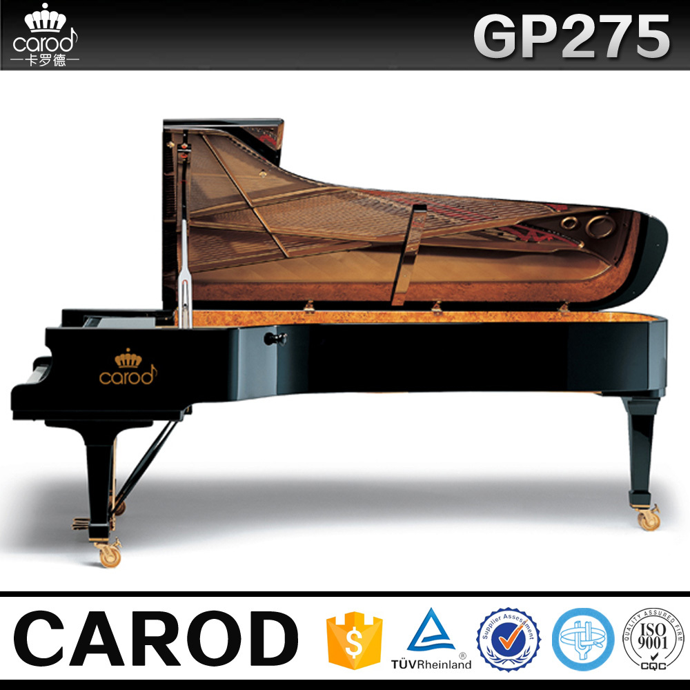 Piano big grand piano china concert piano instrument music for How big is a grand piano