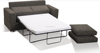 Space Saving Single Sofa Bed for Hotels, Foam Folding Sofa Bed with Arms