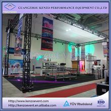 aluminum black truss stage roof system
