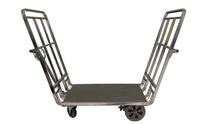 Modern design travel bags/trolley steel airport tool cart/Stainless steel airport trolley