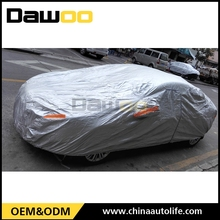 High Performance And Quality craft Full Snow Proof Silver Color Car Cover