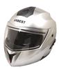 Double visors flip up motorcycle helmet