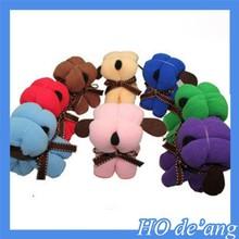 Creative Wedding Favor wedding supplies cute dog shape towel Christmas gift for children microfiber towel MHo-012