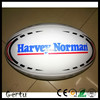 size 9 professional custom logo printed rugby ball