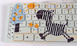 High Speed Multicolor personalized custom keyboard digital uv printing machine