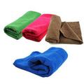 tela de toalla de microfibra por mayor súper absorbente con logotipo bordado