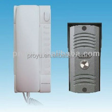 Cheap Good Appearance 2 Wire Audio Door Phone Security Intercom System with Unlocking Function Used for Home Apartment