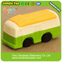 Transport School Bus Shaped Eraser For Children