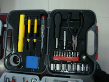 27 Piece Homeowner's Hand Tool Set,Plier,Torch,Sockets,Drill and etc