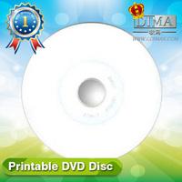 full face white inkjet wholesale printable dvd